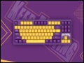 KEEP FIGHTING,达尔优发布A87紫金版樱桃轴机械键盘